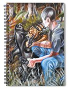 Hogdog And Hunter Spiral Notebook