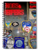 Hogs And Heifers Window Spiral Notebook