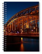 Hohenzollern Bridge Spiral Notebook