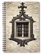 Hohes Schloss Window Spiral Notebook