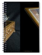 Hohner Chromonica - Cross Your Eyes And Focus On The Middle Image Spiral Notebook