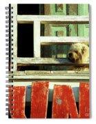 Hoi An Dog 02 Spiral Notebook