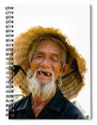 Hoi An Fisherman Spiral Notebook