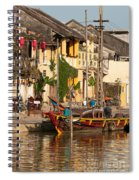 Hoi An Fishing Boat 02 Spiral Notebook