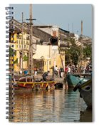 Hoi An Fishing Boats 02 Spiral Notebook