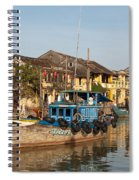 Hoi An Fishing Boats 03 Spiral Notebook