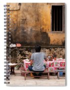 Hoi An Noodle Stall 03 Spiral Notebook