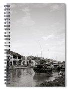 Hoi An Riverfront Spiral Notebook