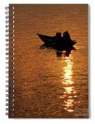 Hoi An Sunrise 02 Spiral Notebook