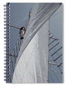Hoisting The Mainsails Spiral Notebook