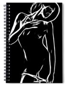 Hold Me Spiral Notebook