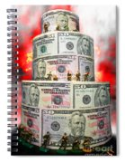 Holding The Financial Fort Spiral Notebook