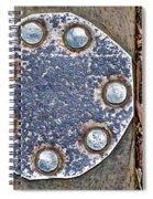 Hole Patch 2 John Muir Woods Spiral Notebook