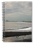 Holgate Calm Surf  Spiral Notebook