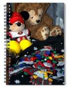 Holiday Bear Spiral Notebook