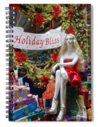 Holiday Bliss Spiral Notebook