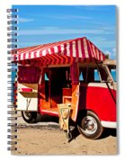 Holiday By The Seaside Spiral Notebook