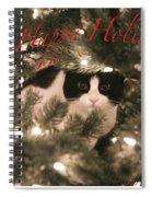 Holiday Card Spiral Notebook