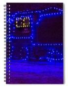 Holiday Express Train Spiral Notebook