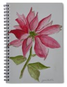 Holiday Flower Spiral Notebook