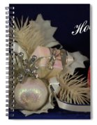 Holiday Greeting Spiral Notebook