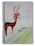 Holiday Greetings Spiral Notebook