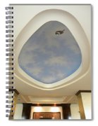Holiday Inn Express Ceiling Dome Mural Spiral Notebook