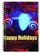 Holiday Lights Spiral Notebook