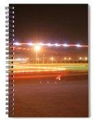Holiday Lights Spiral Notebook