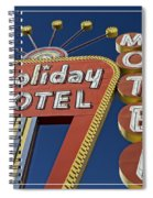 Holiday Motel Las Vegas Spiral Notebook