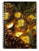 Holiday Ornaments Spiral Notebook