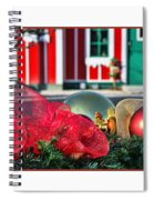 Holiday Reflections Spiral Notebook