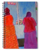 Holiday Shoppers On Prince Island Spiral Notebook