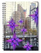 Holiday Stars Spiral Notebook