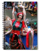 Holiday Stress Spiral Notebook
