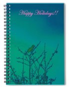 Holiday With Nature Spiral Notebook