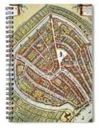 Holland: Gouda Plan, 1649 Spiral Notebook