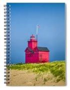 Holland Harbor Lighthouse Mi Spiral Notebook