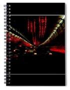 Holland Tunnel Lights Spiral Notebook