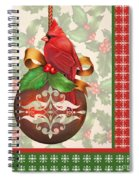 Holly And Berries-b Spiral Notebook