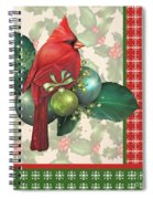 Holly And Berries-d Spiral Notebook