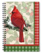Holly And Berries-e Spiral Notebook