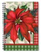Holly And Berries-h Spiral Notebook