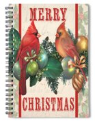 Holly And Berries-i Spiral Notebook
