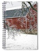 Holly Barn Spiral Notebook