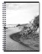 Holly Beach Now Wildwood New Jersey 1907 Vintage Photograph Spiral Notebook