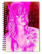 Holly In Hood Spiral Notebook