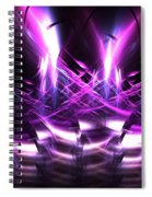 Hollyhocks Spiral Notebook