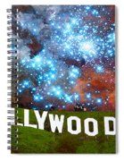 Hollywood 2 - Home Of The Stars By Sharon Cummings Spiral Notebook