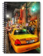 Hollywood Boulevard Spiral Notebook